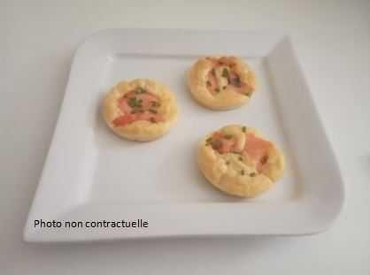 blinis saumon ciboulette