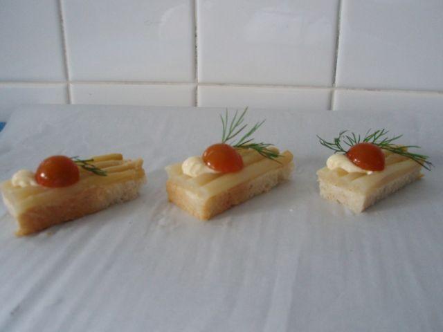 Toast asperges
