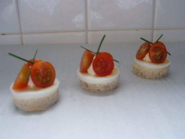 Toast oeuf tomate